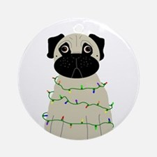 """""""All Lit Up"""" Ornament (Round)"""