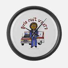 paramedic-dark.png Large Wall Clock