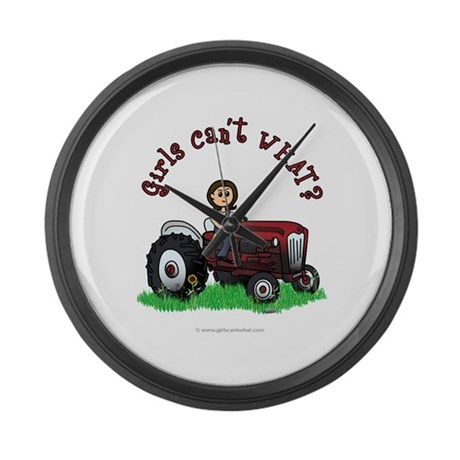 farmer-red-light.png Large Wall Clock