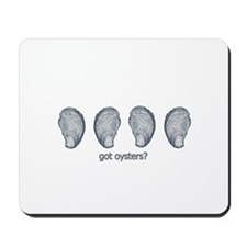 got oysters? logo Mousepad