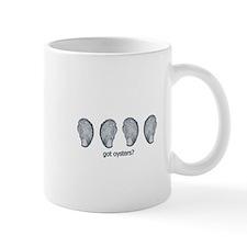got oysters? logo Mug