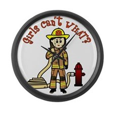 firefighter-light-white.png Large Wall Clock