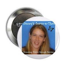 """Stacey's Serve-a-Thon Banner 2.25"""" Button"""