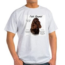 Field Spaniel  Ash Grey T-Shirt