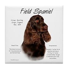 Field Spaniel Tile Coaster