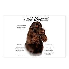 Field Spaniel  Postcards (Package of 8)