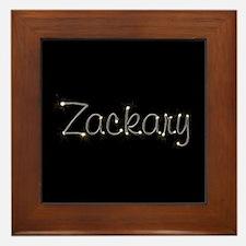 Zackary Spark Framed Tile