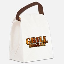 Grill Sergeant Canvas Lunch Bag