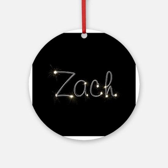 Zach Spark Ornament (Round)