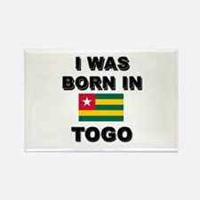 I Was Born In Togo Rectangle Magnet