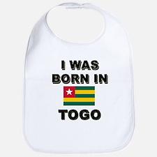 I Was Born In Togo Bib