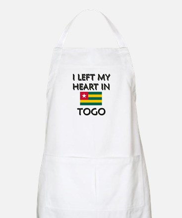 I Left My Heart In Togo BBQ Apron