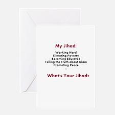 My Jihad Greeting Card