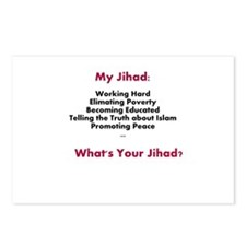 My Jihad Postcards (Package of 8)
