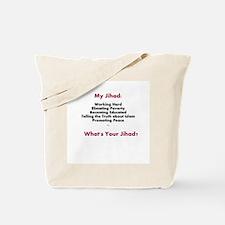 My Jihad Tote Bag
