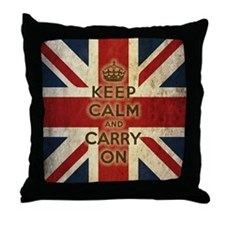 Cute London Throw Pillow