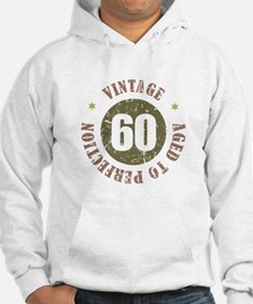 60th Vintage birthday Jumper Hoody