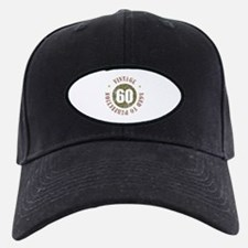 60th Vintage birthday Baseball Hat