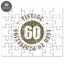 60th Vintage birthday Puzzle