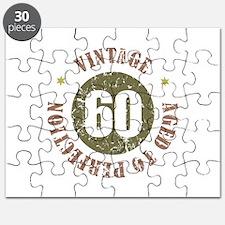 60th Vintage birthday Puzzle