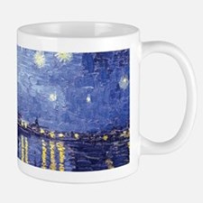 Starry Night Over the Rhone Small Mugs