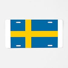 Sweden - National Flag - Current Aluminum License