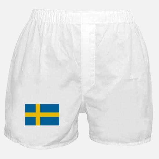 Sweden - National Flag - Current Boxer Shorts