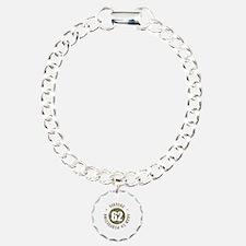 62nd Vintage birthday Charm Bracelet, One Charm