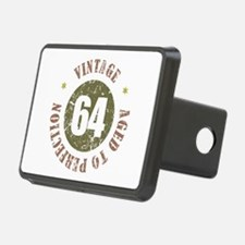 64th Vintage birthday Hitch Cover