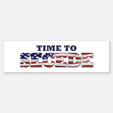 Secede Flag Bumper Bumper Sticker