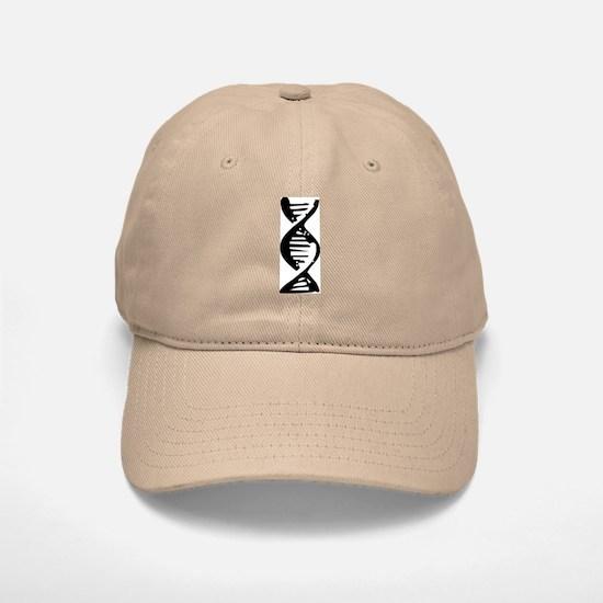 DNA Double Helix Symbol Baseball Baseball Cap