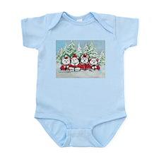 Christmas Westies Infant Bodysuit