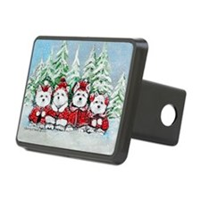 Christmas Westies Hitch Cover