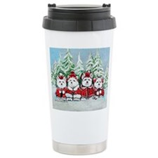 Christmas Westies Travel Coffee Mug