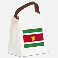 Suriname - National Flag - Current Canvas Lunch Ba