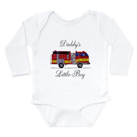 Daddy's Little Boy Long Sleeve Infant Bodysuit