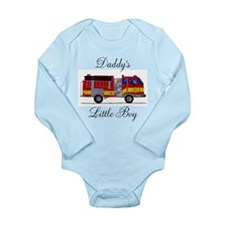 Daddy's Little Boy Long Sleeve Infant Bodysuit