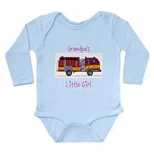 Grandpa's Little Girl Long Sleeve Infant Bodysuit