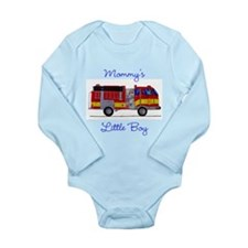 Mommy's little Boy Long Sleeve Infant Bodysuit
