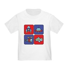 Flying Vehicle Squares T