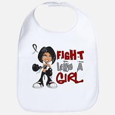 Licensed Fight Like a Girl 42.8 Narcolepsy Bib