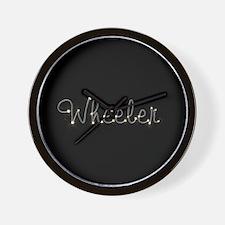 Wheeler Spark Wall Clock