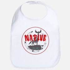 Native American for Life Bib