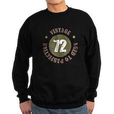 72nd Vintage birthday Jumper Sweater