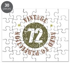 72nd Vintage birthday Puzzle