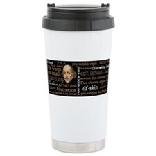 Cute Shakespeare, Travel Mug
