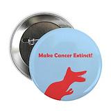 Bladder cancer buttons 10 Pack