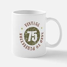 75th Vintage birthday Mug