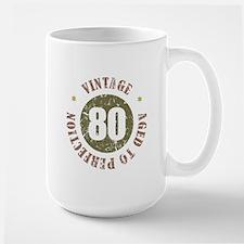 80th Vintage birthday Mug