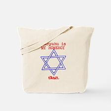 Israel Netanyahu Design Tote Bag